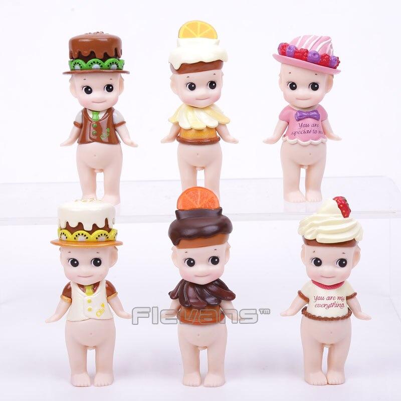 Sonny ange chocolat série Mini PVC figurines à collectionner modèle jouets poupées 6 pièces/ensemble