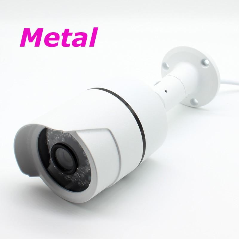 Металлическая сетевая IP-камера видеонаблюдения 2 Мп 3 Мп HD с защитой от атмосферных воздействий ONVIF XMEye H.265 +