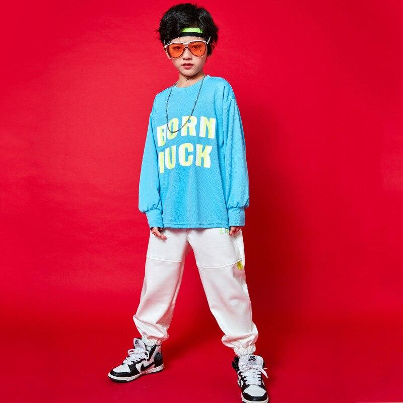 Sudadera de hip hop para niños ropa de plantación y camiseta de...