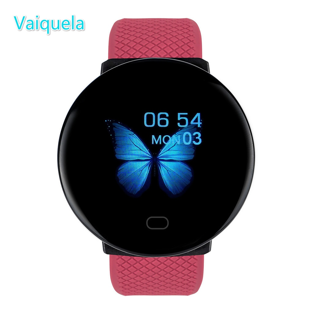 Digital Watches Women Sport Pedometer Watch Round Bluetooth Fitness Tracker Blood Pressure Men Clock For apple oppo Android IOS