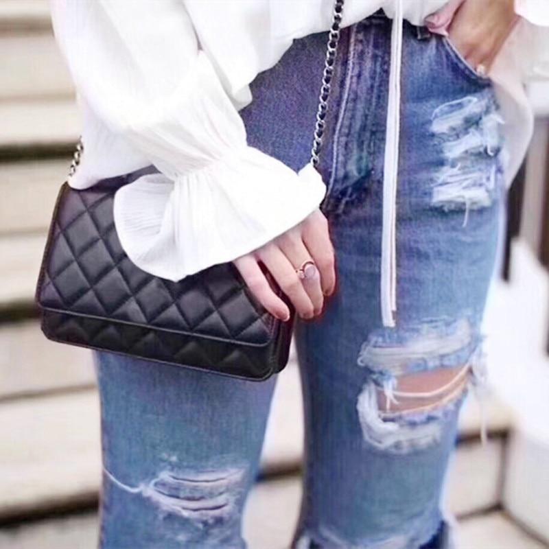 Cow Leather Bag for Women 2021 Fashion Branded Female Shoulder Messenger Handbags New Summer Style Sheeptkin Tote