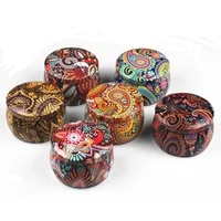 1pc empty tinplate box tins cans jars containers wicks sticker centering for aroma essential oil soy candle supplies