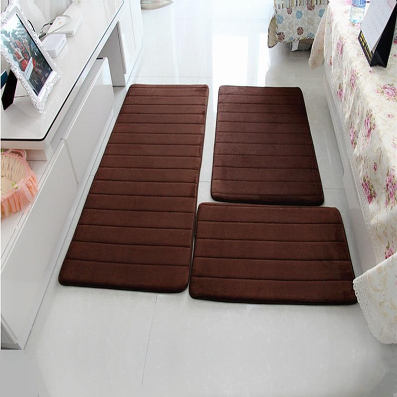 Водопоглощающий коврик для ванной, Противоскользящий коврик для ванной комнаты, рядом со стиральной машиной, для гостиной, спальни, напольн...