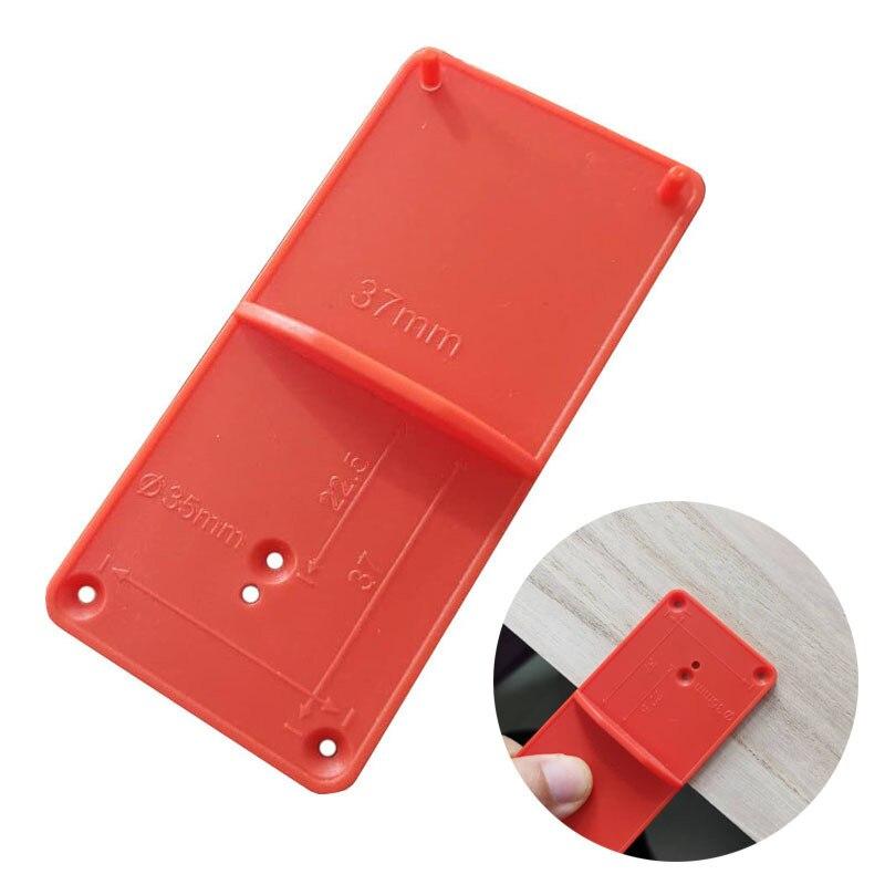 35/40mm bisagra agujero guía de perforación localizador perforadora puerta gabinetes DIY herramienta para herramientas de carpintería Accesorios