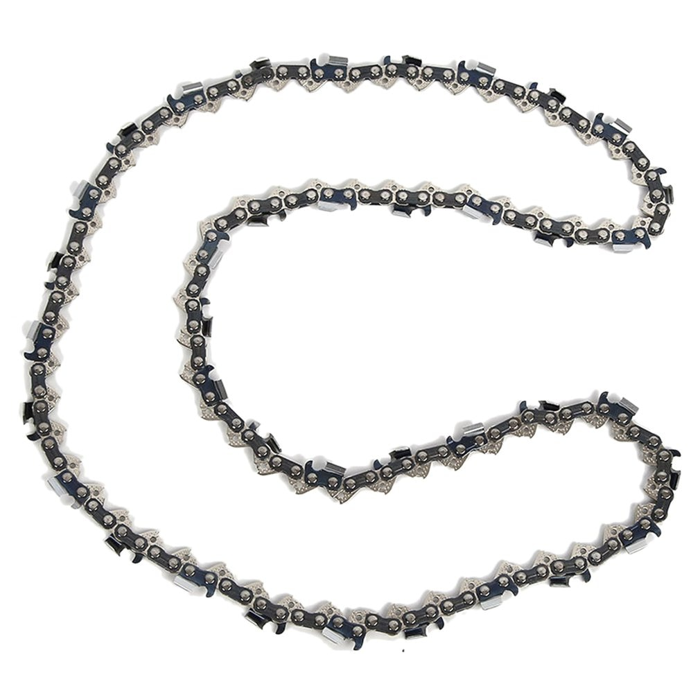Chainsaw Chain Electric Chain Saw Accessories General Logging Saw Chain Small 3/8 Chainsaw 14 Inch 52 Knots electric chain saw huter els 2000p flat blade chainsaw link tooth saw chain cutter cross cut saw