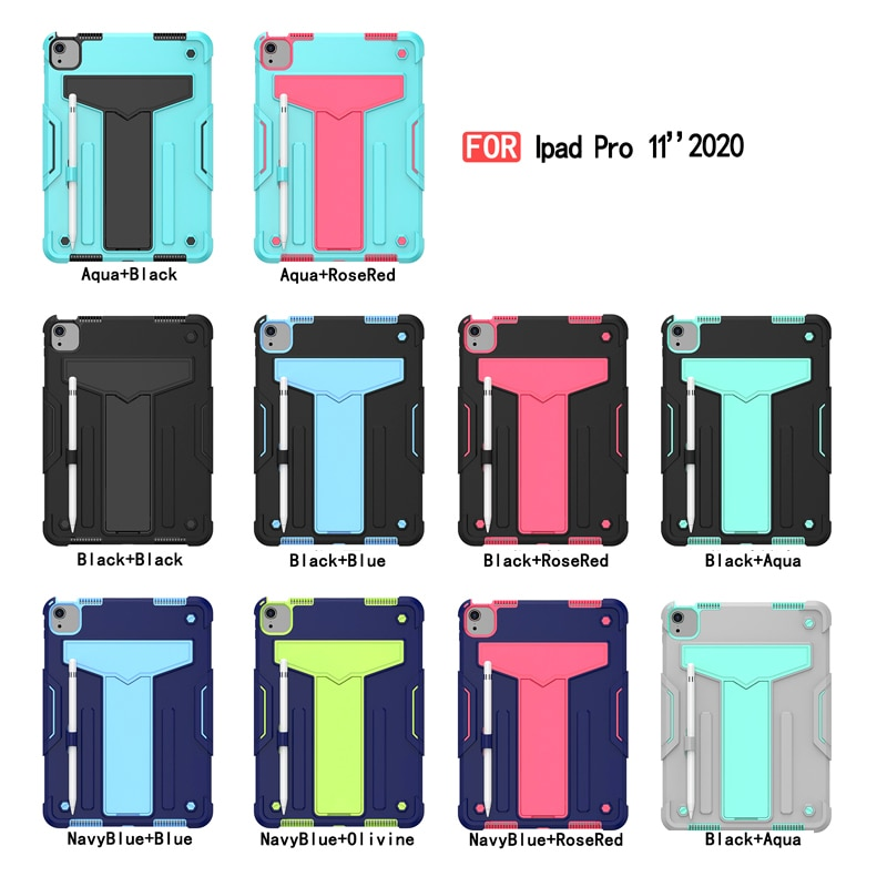 Shock pro 2020 11 Duty A2231 For Proof iPad Case inch Protective A2068 A2230) Heavy (A2228 11