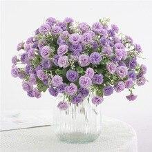 Fleurs de lilas artificielles Simulation girofle faux soie fleur Arrangement maison fête mariage jardin décoration fournitures