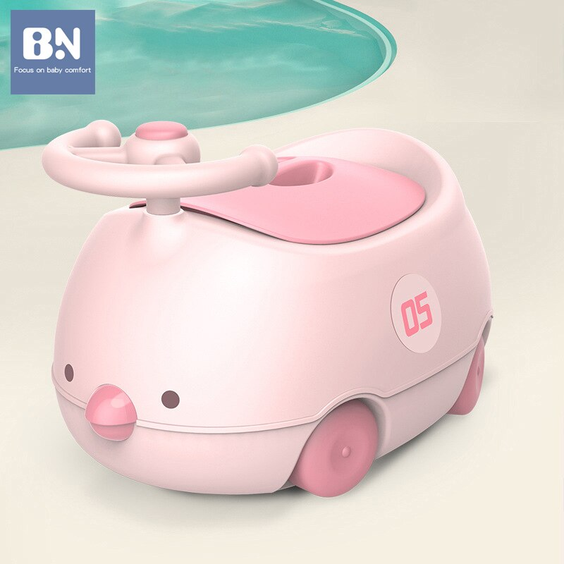 BN Portable Baby Hygiene Toilet Urinal Boys Girls Pot Chair Car Toilet Anti-leakage Potty Kids Convenient Toilet Training Potty