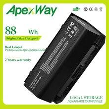 Apexway 88WH A42-G750 Laptop Battery for ASUS ROG G750 G750J G750JH G750JM G750JS G750JW G750JX G750JZ Series