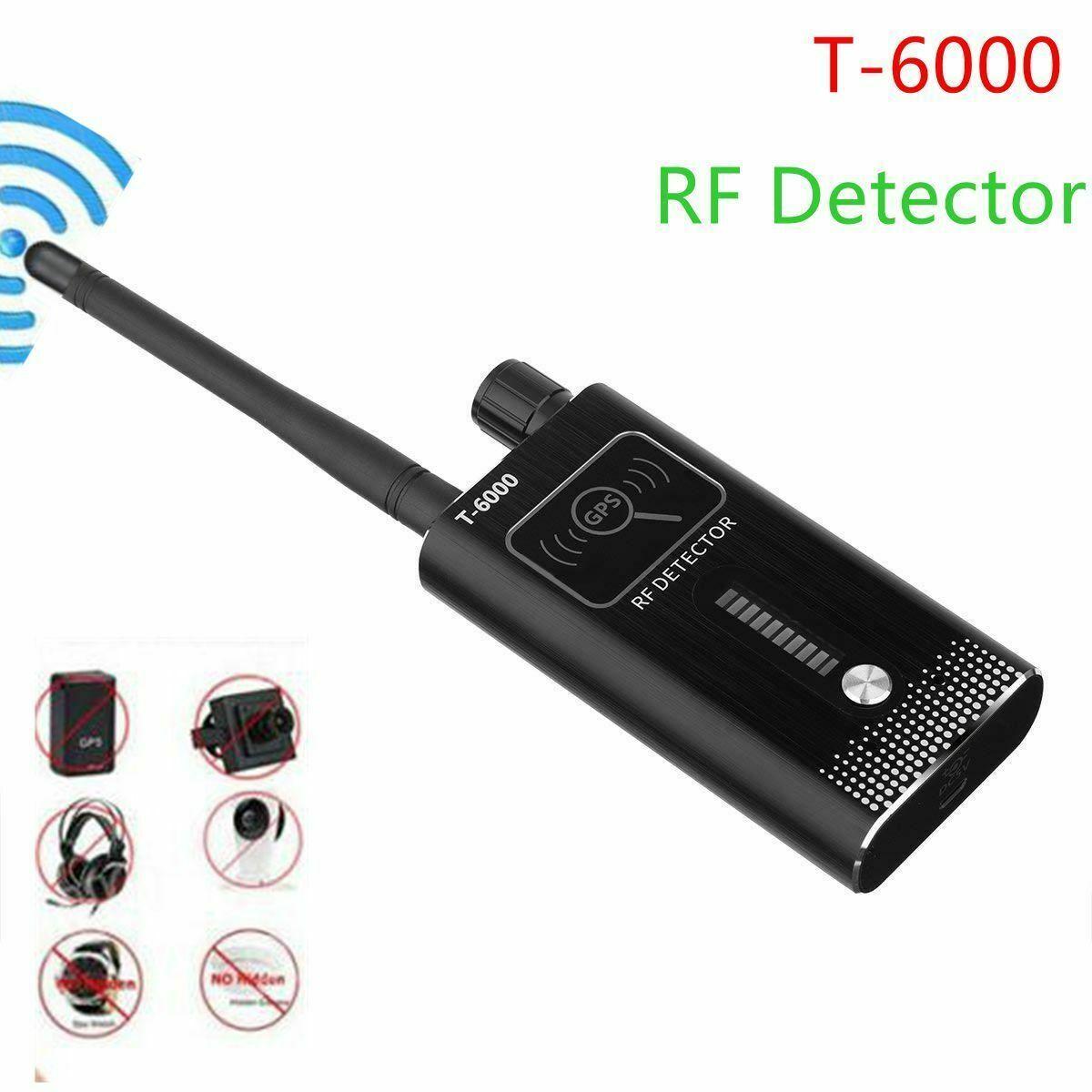 T6000 Anti-Spy GPS Signal Lens RF Tracker Camera GSM SPY Bug Detector Anti Candid Camera GPS Tracker Wireless Audio Bug Finder