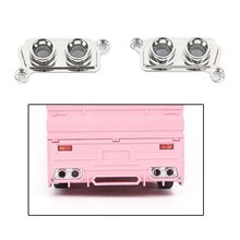 2pcs Exhaust Side Cover Replace Accessory for WPL D12 RC Car Model Parts, RC Car Parts Toys for Kids