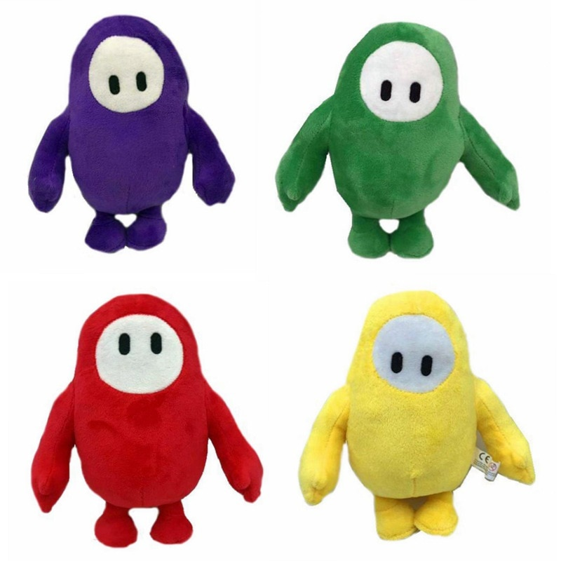18cm Fall Guys Plush Doll Game Figure Plush Stuff Toy Fall Guys: Ultimate Knockout Children Christmas Birthday Toys Gift new 1pcs 18cm cute simulation crab doll animal plush toys little crab doll ragdoll children toy girlfriend gift funny game toys