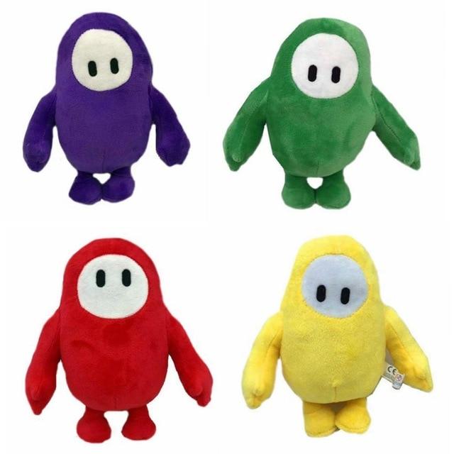18cm Fall Guys Plush Doll Game Figure Plush Stuff Toy Fall Guys: Ultimate Knockout Children Christmas Birthday Toys Gift