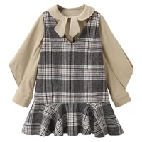 childrens skirts girls suits childrens clothing shirts tops vests skirts short fashion kids two piece suits autumn 2021 new