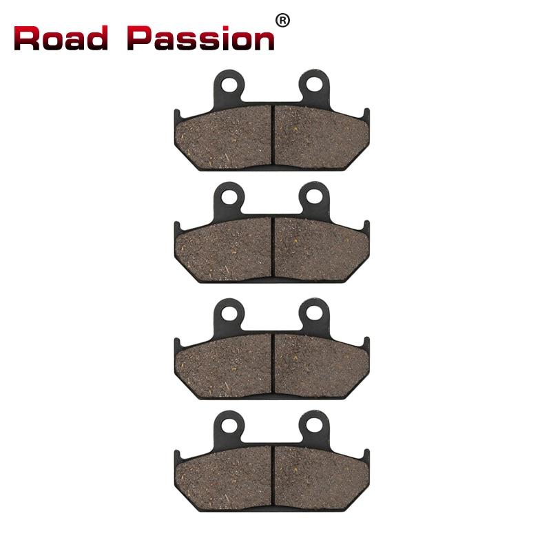 Road Passion Motorcycle Front Brake Pads for HONDA CBR 750 CBR750 Superaero 1987 GL 1500 GL1500 Aspencade / Interstate 1990-2000