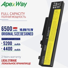 10.8V Laptop Battery For LENOVO Y550P Y550P 3241 Y550A Y550 Y550 4186 Y450 Y450A Y450G L08L6D13 L08O6D13 L08S6D13 55Y2054 6 Cell