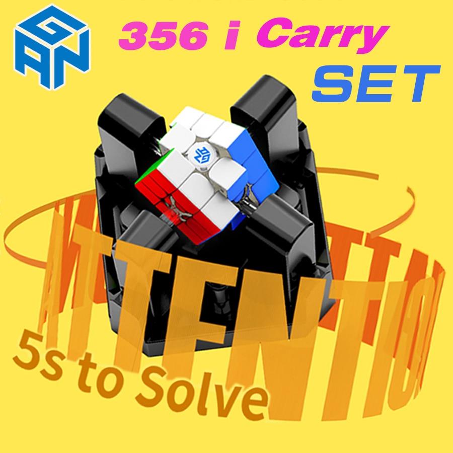 conjunto de gan 356 eu carrego celular robo gan356 eu carrego 3x3x3 cubo inteligente