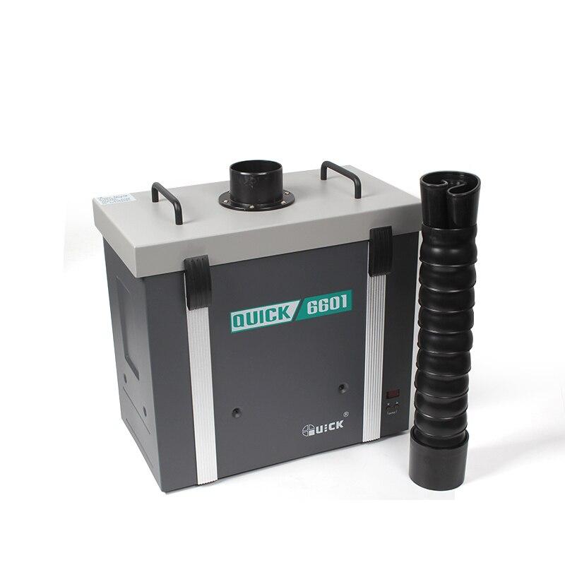 نظام تنقية الدخان ، كاشف الدخان ، مرشح منقي بسيط ، مروحة دوامة ، رياح قوية ، سريعة ، 6601 AC220V