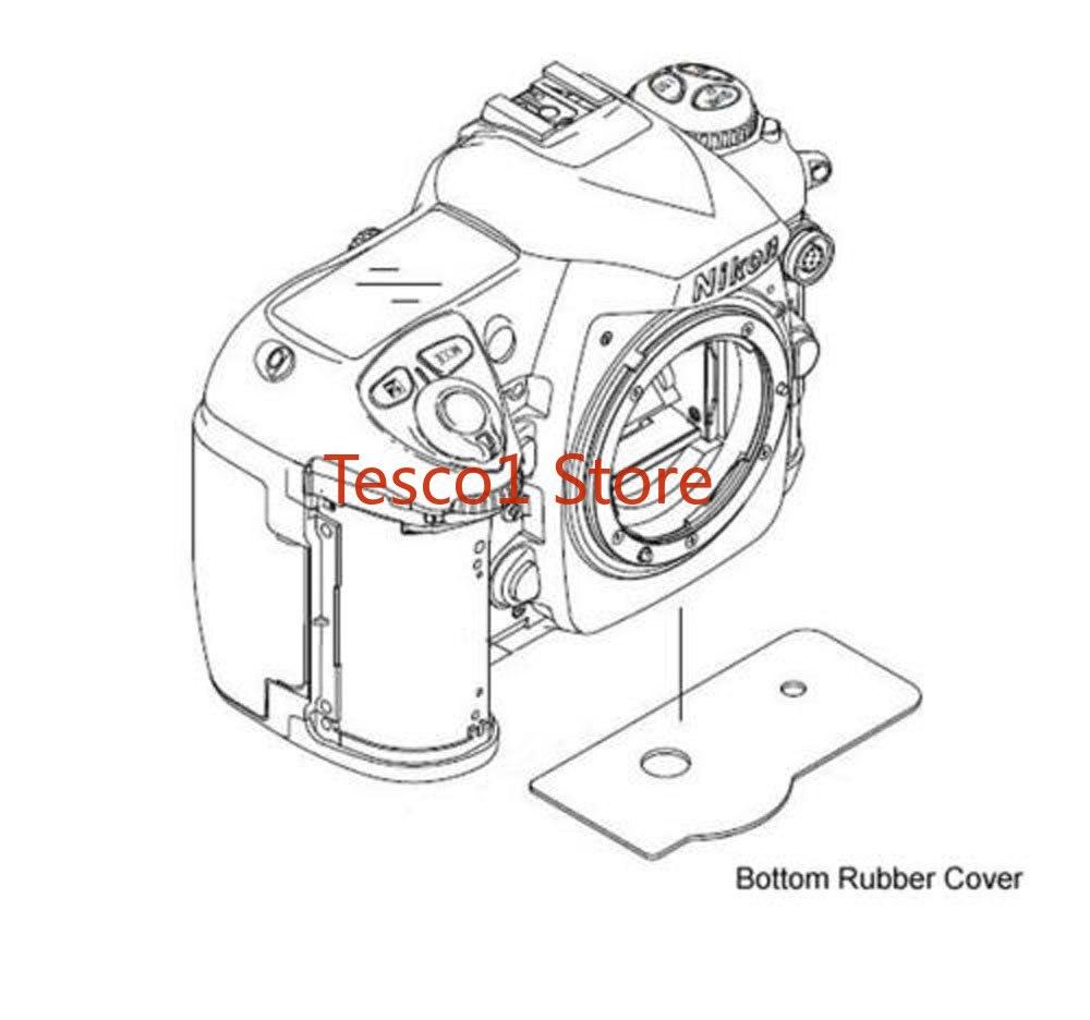 Original New Bottom Cover Rubber Unit For Nikon D200 Fuji Fujifilm S5 Camera