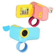 "DC-KF HD 1080P, cámara Digital para niños, cámara Manos libres con marco de fotos, Mini grabadora de DV para niños, pantalla TFT LCD de 1,44"""