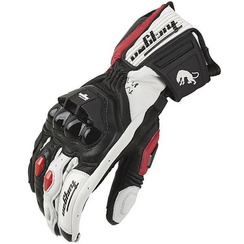 Кожаные перчатки для мотокросса, гоночные перчатки для вождения, велоспорта, езды на мотоцикле, спорта, езды на мотоцикле