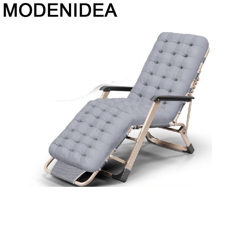 Transat-silla reclinable para Patio, muebles De jardín, cama plegable, para salón