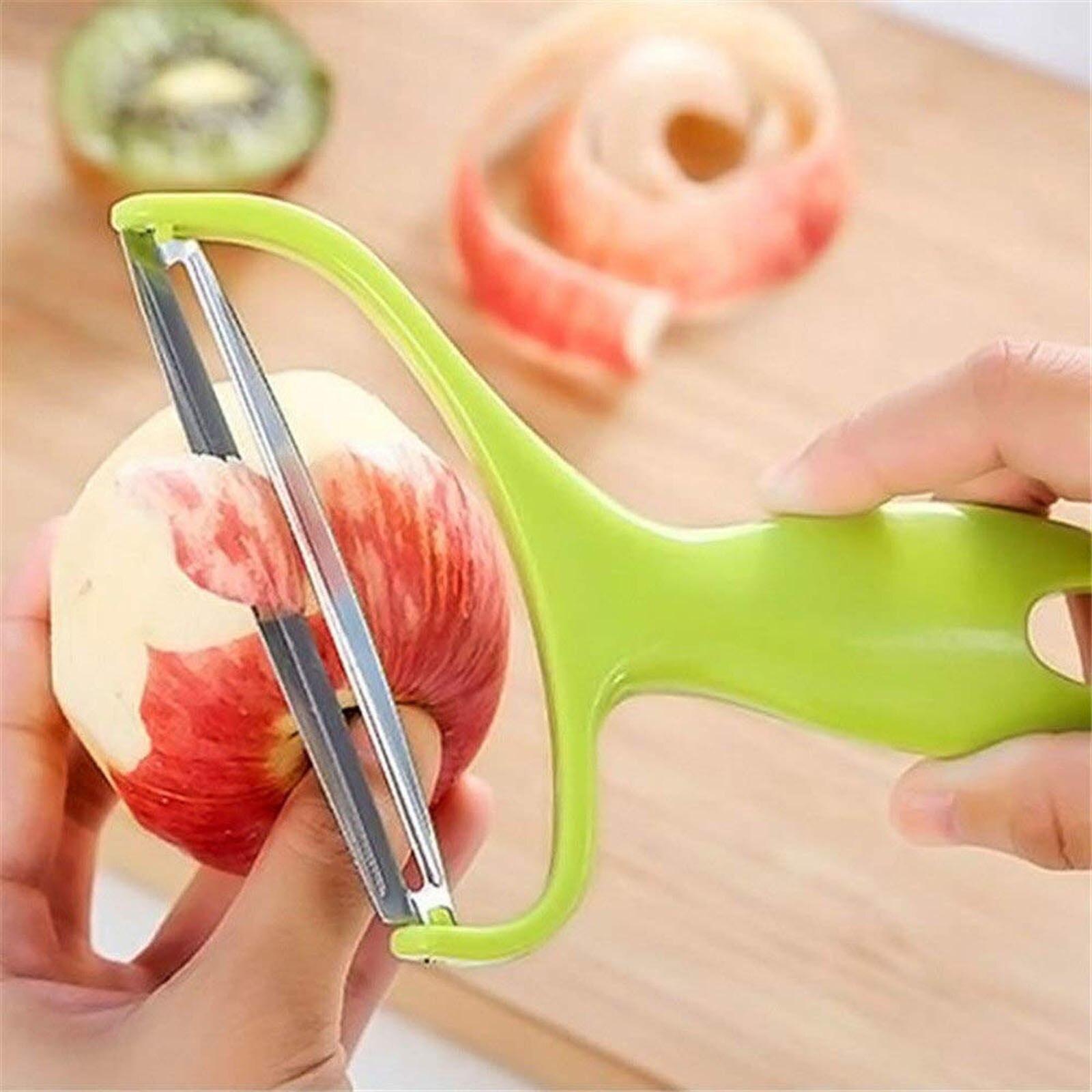 Herramientas de cocina, pelador de verduras y frutas, cuchillo de acero inoxidable,...