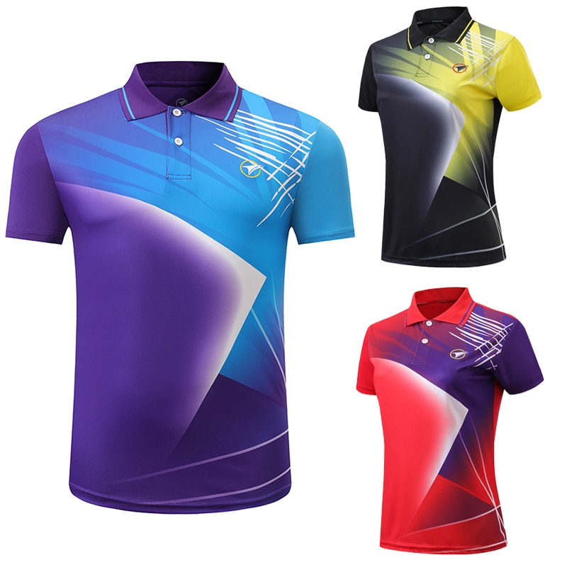 Free Custom Badminton t shirt Men/Women's , sports badminton shirt ,Table Tennis t shirt , Tennis t shirt AY002
