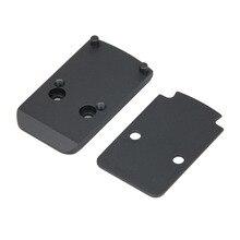 PPT Новое поступление тактический черный цвет RMR адаптер пластина для красной точки 48 мм длина HK24-0167