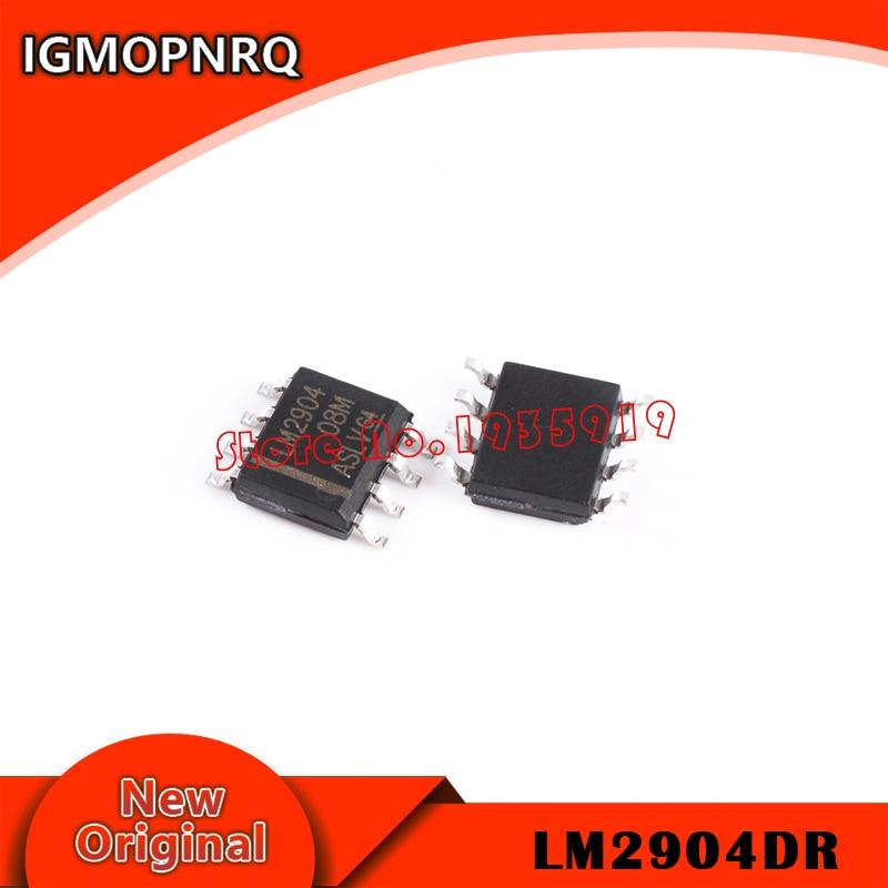 20 unids/lote nuevo LM2904 LM2904DR SOP-8 nuevo y original ic