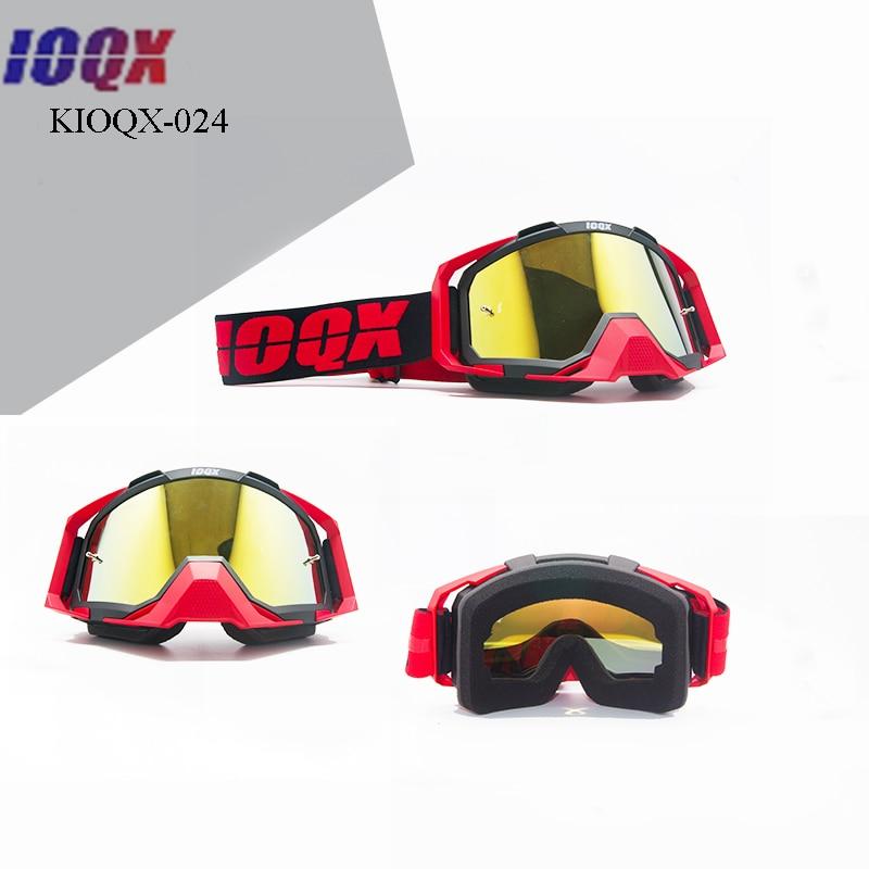 IOQX Anti-dust Motorcycle Goggles Glasses Cycling off road Helmets Ski Sport Gafas Motorcycle Dirt Bike Racing Moto Goggles enlarge