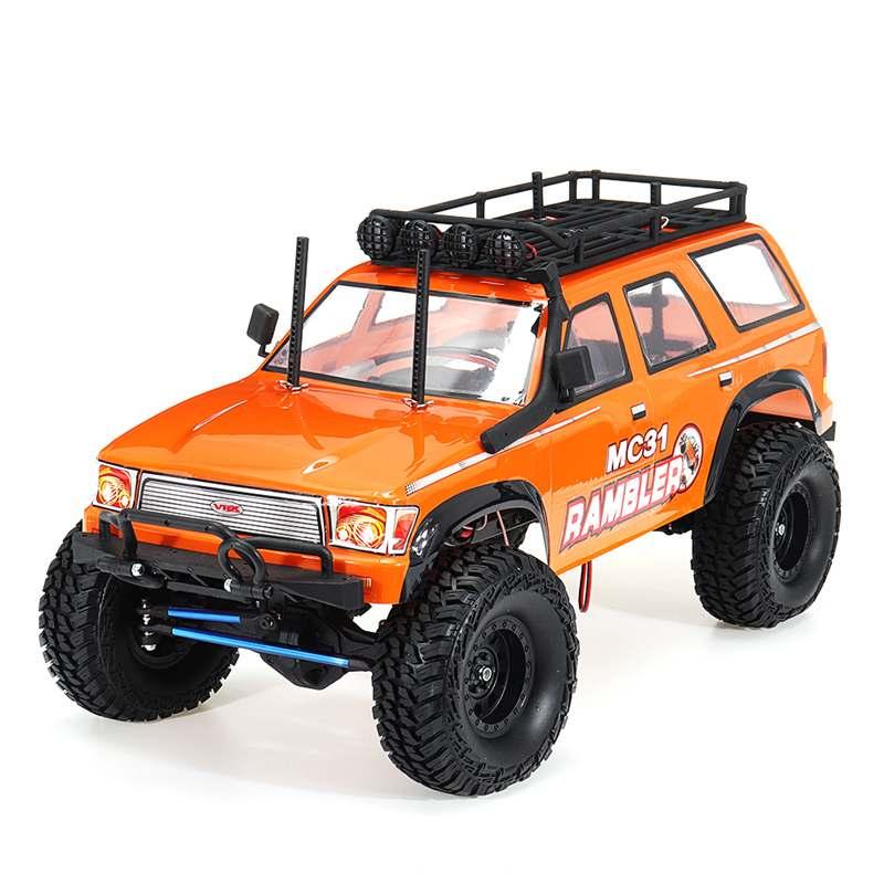 Brosse RC voiture avec changement à deux vitesses VRX RH1052 1/10 2.4G chenille RTR véhicules modèles avec chargeur de batterie émetteur