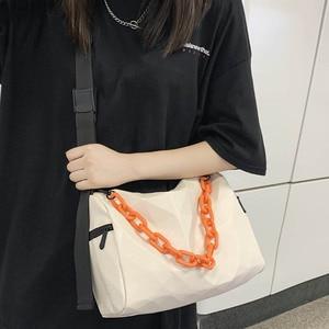 Street Trend Shoulder Bag Unisex Luxury Brand Crossbody Bag 2021 Fashion Simple Women Handbags Purse New High-quality Phone Pack