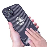 phone case perfect hands feeling for iphone 13 12 11 pro max mimi luxury design with carbon fiber finish and smooth touch case