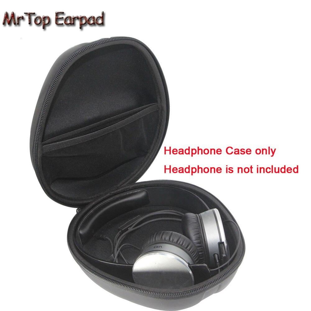 Funda para auriculares MrTop para Sennheiser RS120 RS185 RS 195 PXC550 HDR 120 HDR 160 HD 7 DJ Almacenamiento de auriculares bolsa de caja de caso