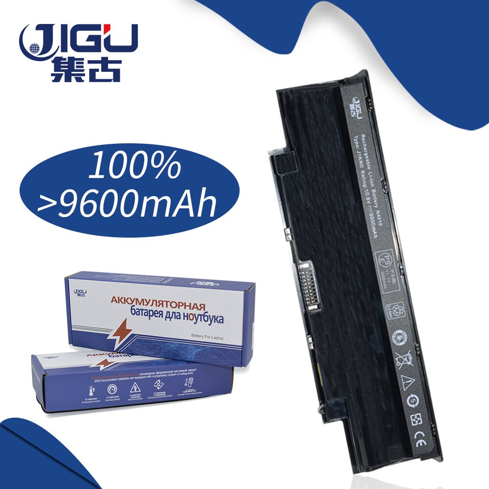JIGU 9 células reemplazar batería del ordenador portátil para DELL Inspiron N5010 N5110 J1KND 14R N4010 N4010-148 15R 17R N7010 J1KND
