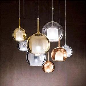 Penta Glo pendant light Designer Simple glass bubble Pendant Lights Dining Room Bar Restaurant Kitchen color pendant light