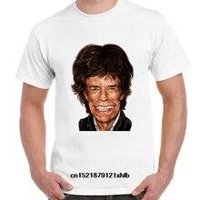 Men T shirt Design Mick Jagger Printed Soft Tee Cool Tops funny t-shirt novelty tshirt women