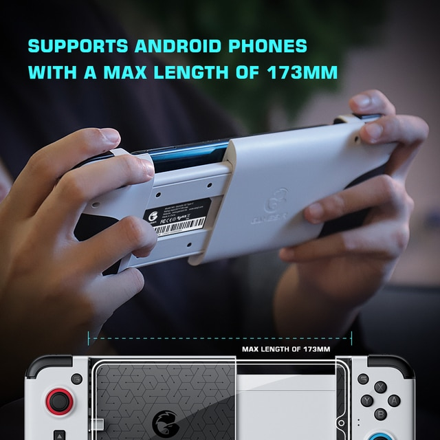 GameSir X2 Type-C Mobile Gamepad [2021 New Version] Game Controller for Xbox Game Pass, PlayStation Now, STADIA Cloud Gaming 10