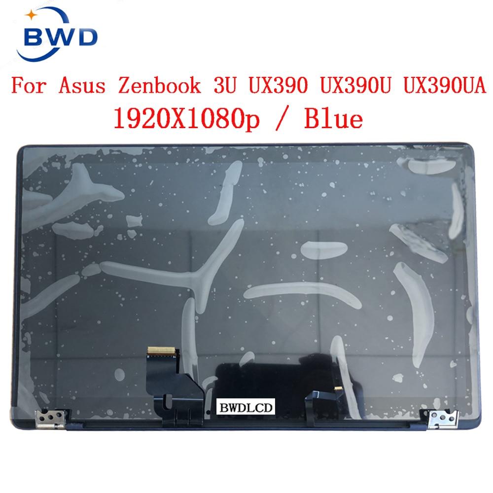 شاشة LCD كاملة للكومبيوتر المحمول ASUS ZENBOOK 3u UX390 ux390u UX390UA UX390UAK الأصلي للتجميع مقاس 12.5 بوصة