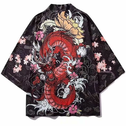 Male Print Kimono Cardigan Cardigan Shirt Blouse Yukata Men Haori Obi Clothes Samurai Clothing Japanese Kimono For Men diabolik lovers anime sakamaki ayato kanato laito shu reiji subaru mukami ruki samurai kimono rubber japanese rubber keychain
