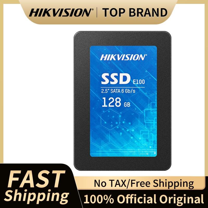 HIKVISION E100 Interne Solid State Drives 128GB 256GB 512GB 1TB 2.5 \'\'SATA III 6 Gb/s interne SSD 3D TLC für Laptop