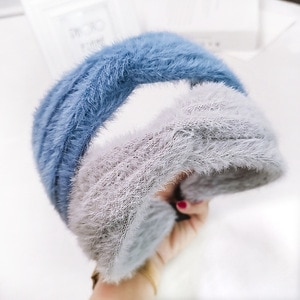 Autumn and winter fashion knit hair hoop serre tete opaski haar accessoires voor vrouwen head bands for women girls hairband