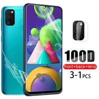 100D Hydrogel Film For Samsung Galaxy A52 A72 A32 M21 A21s A51 A71 A12 A31 A02s M31S Back Screen Protector Camera Glass