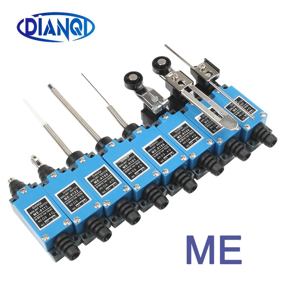 МНЕ концевой выключатель es ME-8108 8104 8107 8169 8166 8111 9101 концевой выключатель Регулируемый поворотный замок роликовый рычаг мини концевой выключатель