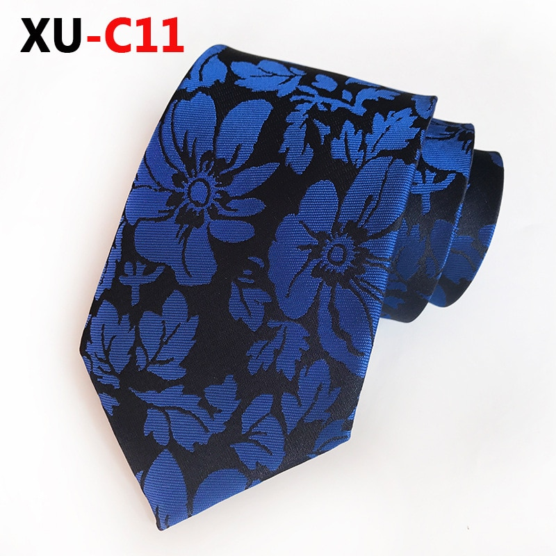 New Design Man Tie Silk Jacquard Necktie 8cm Gold Big Flower Neckwear Warm Color Gravata Makes You Full of Passion Neckcloth недорого