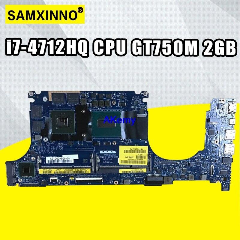 CN-0R99XN 0r99xn placa-mãe para For DELL xps 15 9530 portátil placa-mãe testado 100% trabalho LA-9941P i7-4712HQ cpu gt750m 2gb