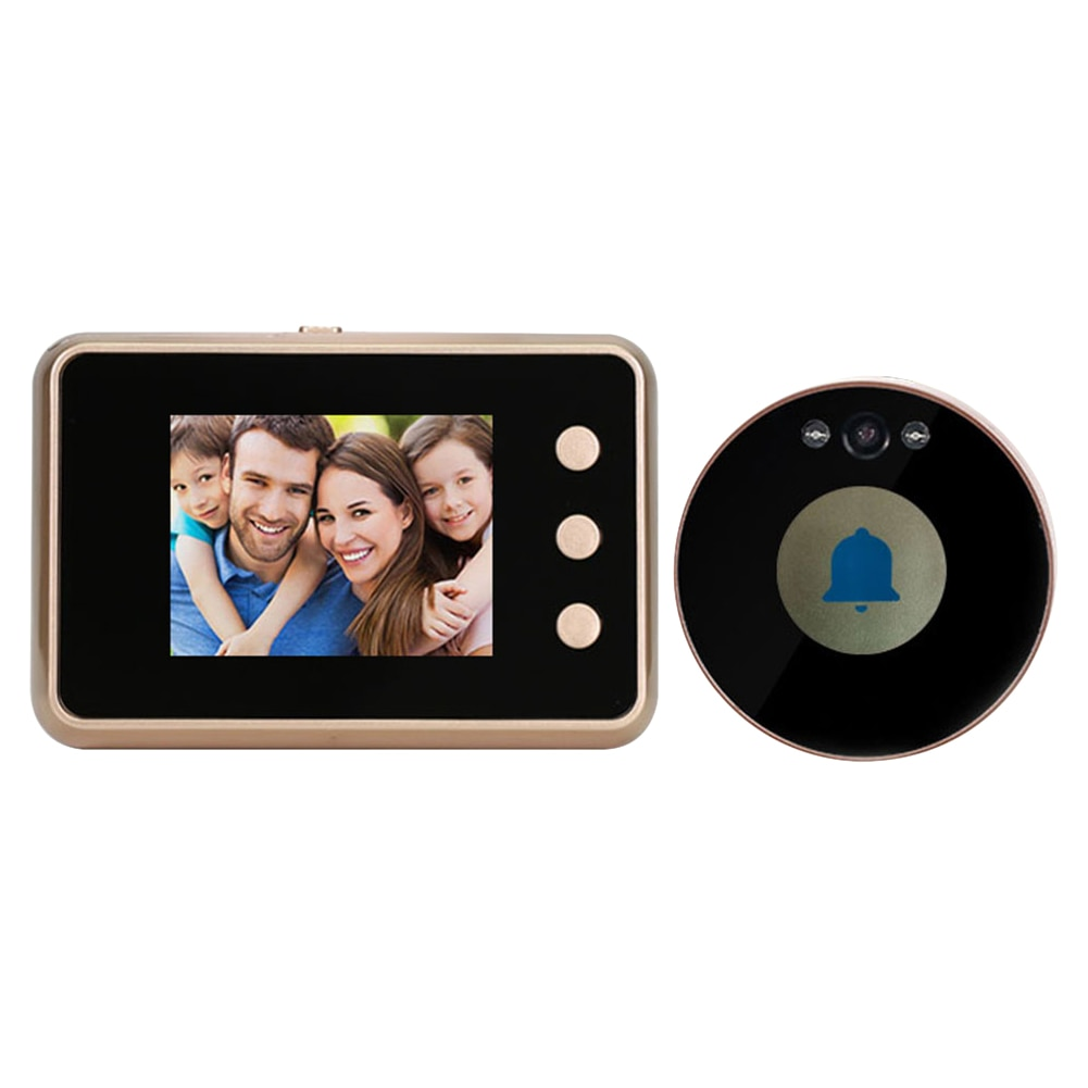 Peephole Viewer Video Night Vision 2.8 inch TFT LCD Doorbell Camera Digital Video Vision HD Camera Outdoor Door Bell enlarge
