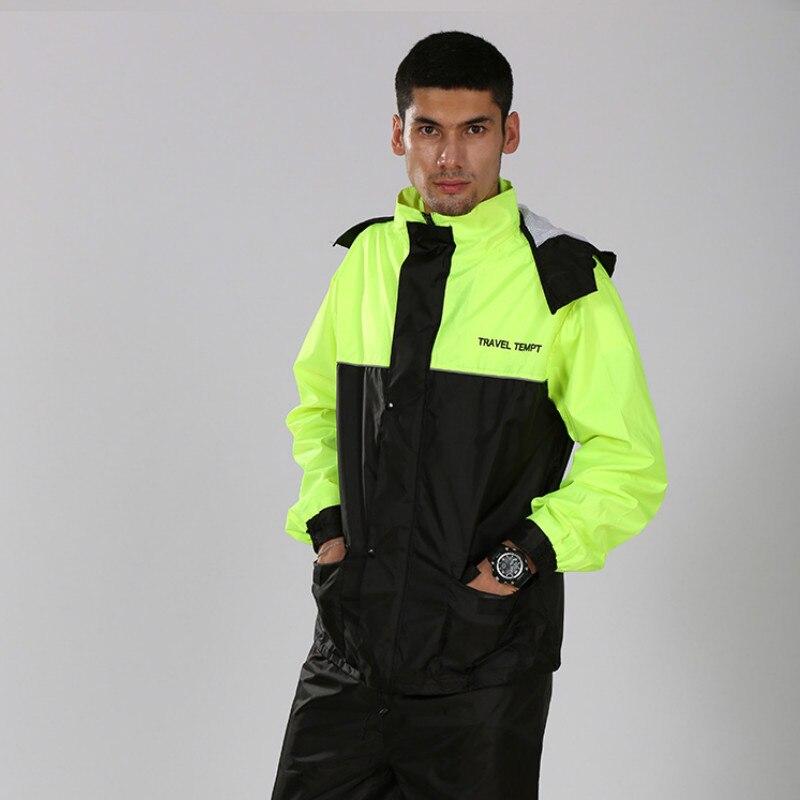 Chubasquero con capucha Impermeable Para excursionismo y motocicleta Para mujer, Impermeable, Impermeable, al aire libre, Capa Para hombre adulto, chaqueta KK60YY