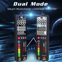 bside voltage detector tester adms1cl 2000 counts auto range voltmeter multimeter dual mode smart 2 4 lcd digital dcac hz test